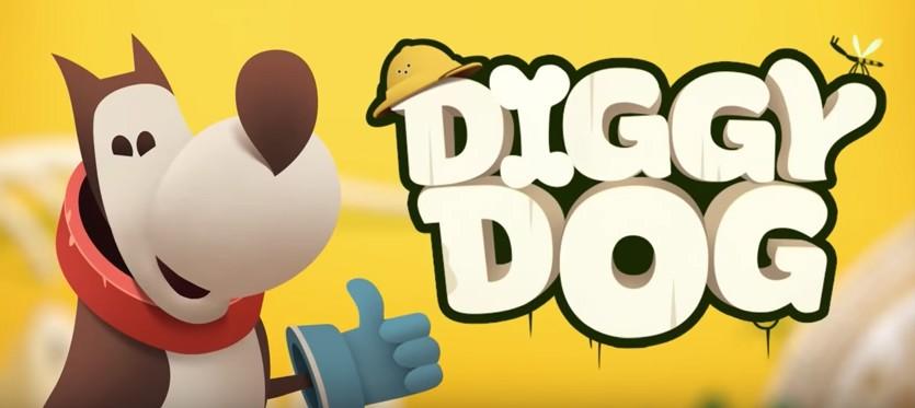 My Diggy Dog начало игры