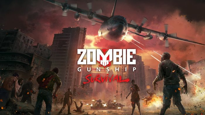Zombie Gunship Survival на ПК