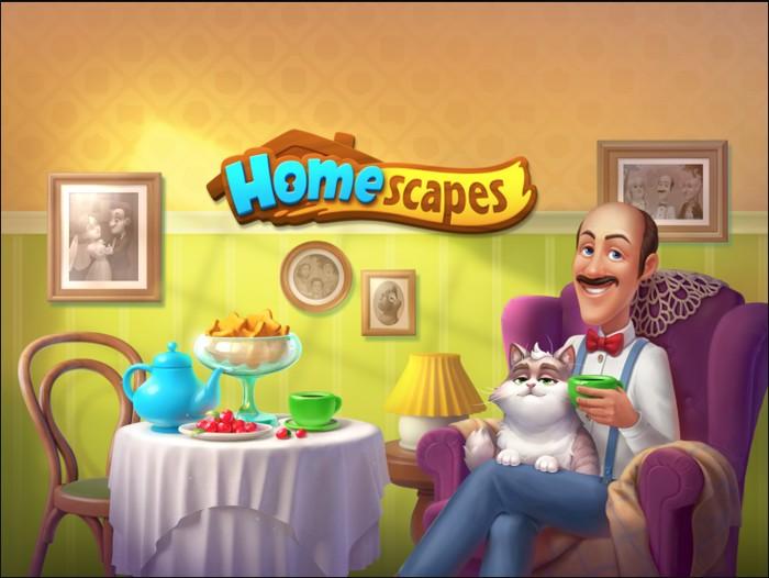 Homescapes прохождение уровней