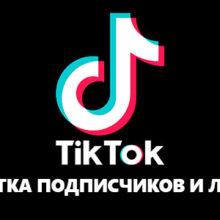 Накрутка подписчиков и лайков в Тик Ток