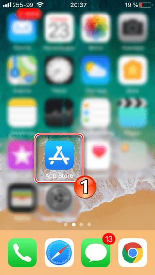Войти в App Store