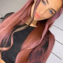 Маска в Инстаграм, меняющая цвет волос