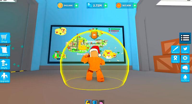 Super power fighting simulator коды